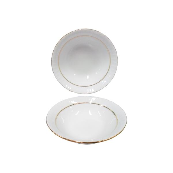 Güral Porselen - Yaldızlı Çorba Kasesi 6 lı