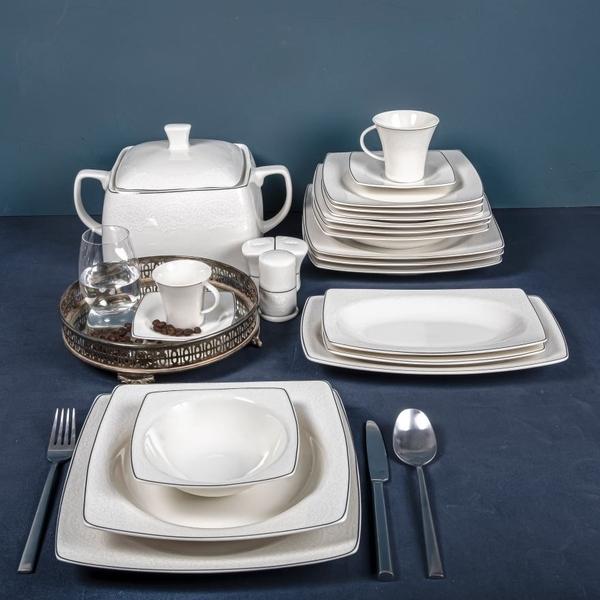 Güral Porselen - Yemek Takımları 12 kişilik Güral <br> GBSCR85KYT8305906